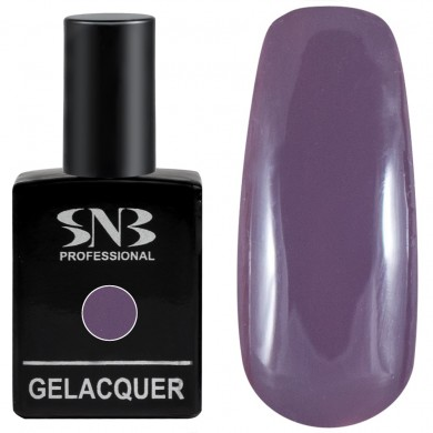 Gel polish SNB 082 Sandra- dimmed dark purple 15 ml