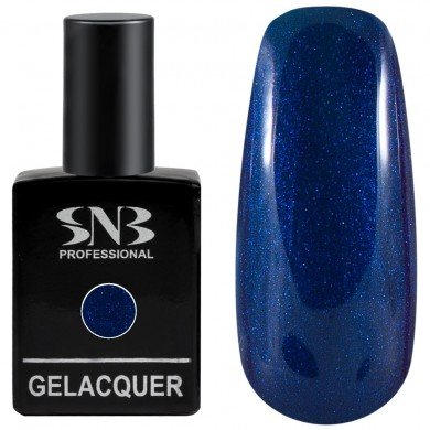 Gel polish SNB Pearl 067 Angella - dark blue 15 ml