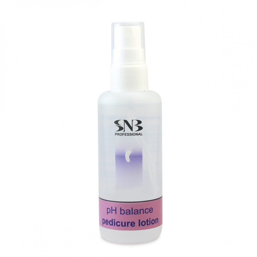 SNB pH Balance Pedicure Cream is designed as a final step in a professional pedicure treatment using alkaline products. Due to the low level of pH (~5,5) it restores skin's natural humidity.