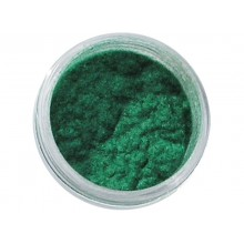 Nail decorations with velour effect DEPV27 green color SNB Professional