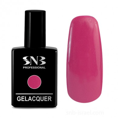 Gel Lacquer SNB color 168 Ingrid