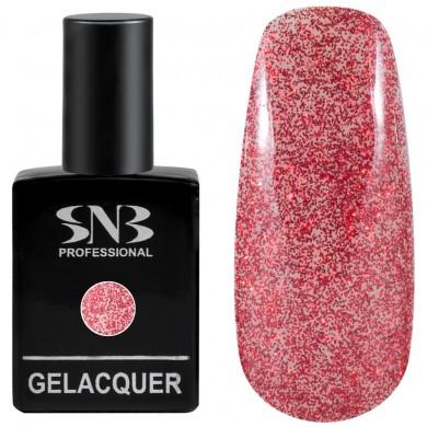 SNB Glitter 03 Red Brocade 15 ml