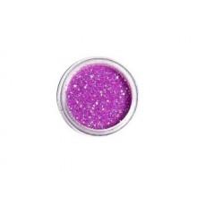 DEDLM39 Pink - macro glitter nail polish effect