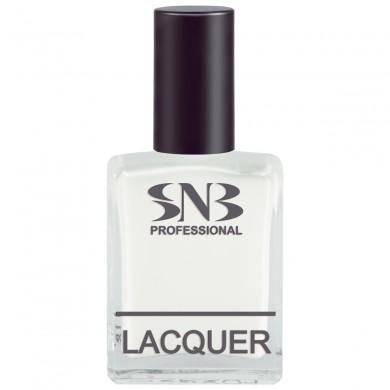 SNB nail polish Belcho 24 - white pastel 15 ml