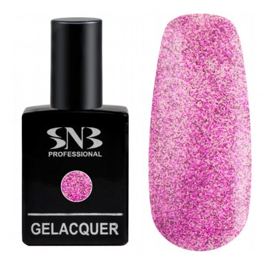 SNB Glitter 05 Fuchsia 15 ml