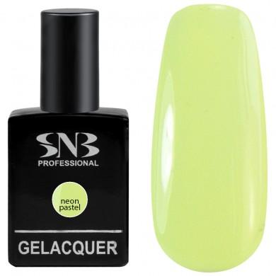 SNB  neon pastel 160 Karoina - green 15 ml