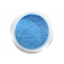 Nail decorations with velour effect DEPV25 light blue