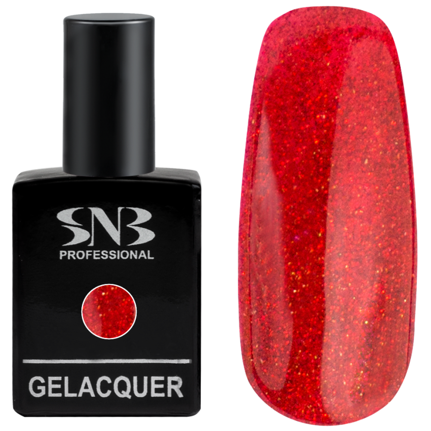 Professional Gel Lacquer SNB Brocade collection 112 - Medea Red