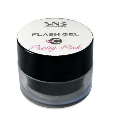 SNB Flash UV Gel 20 gr - gentle pink