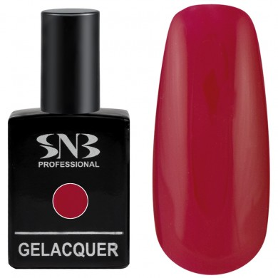 Gel polish SNB 099 Ophelia - fatal red 15 ml