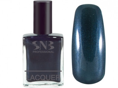 SNB nail polish 12 Vyara - pearl blue 15 ml