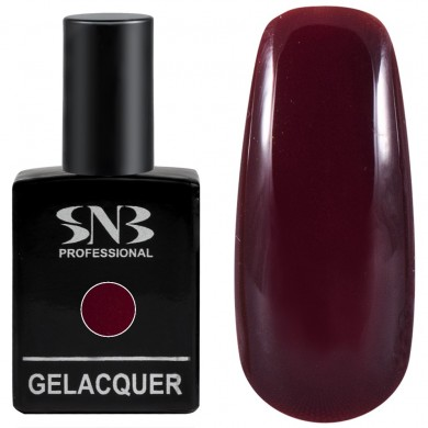 Gel polish SNB 148 Harper - bordeaux 15 ml