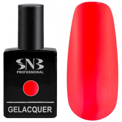 Gel polish SNB 143 Ferrara - red 15 ml