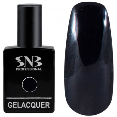 Gel polish SNB 026 Chernyo - black 15 ml