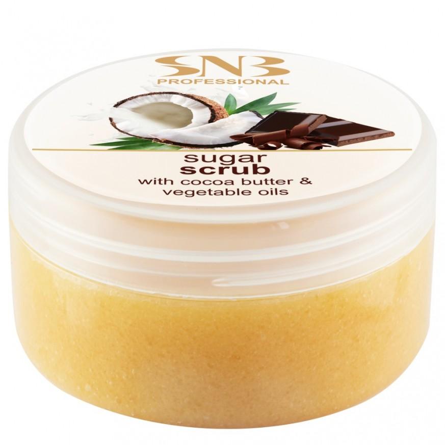 Sugar srub with cocoa butter - 300 ml