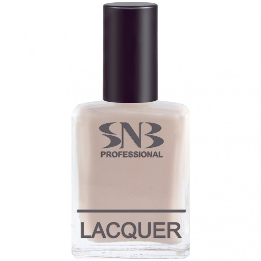 SNB nail polish Gabriela 13 - beige pastel 15 ml