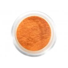 Nail decorations with velour effect DEPV26 orange