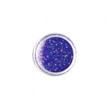 DEDLM33 violet - macro glitter nail polish effect