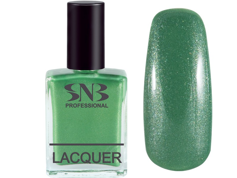 SNB nail polish Velko 08 - pearl green 15 ml