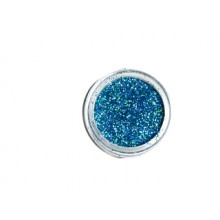DEDLM45 Blue-green - macro glitter nail polish effect
