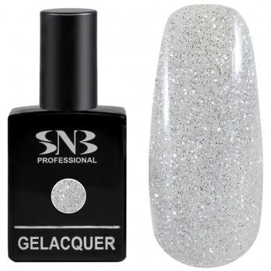 SNB Glitter 01 Silver Brocade 15 ml
