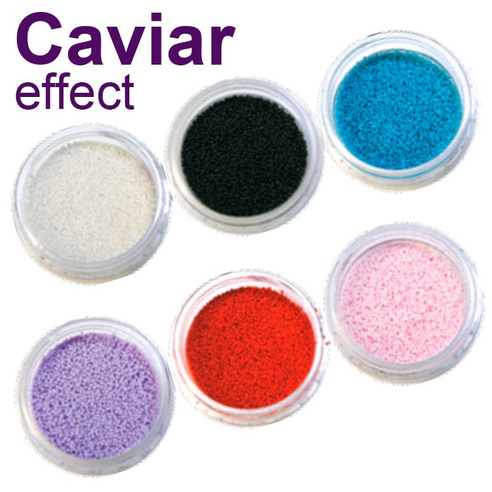 Caviar effects for nail polish SNB Professional