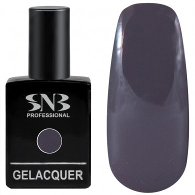 Gel polish SNB 038 Elinor - dark grey 15 ml
