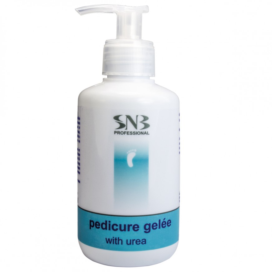 Pedicure Gelée SNB. For cleansing the rough skin, for treating calluses, corns and ingrown nails.