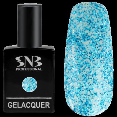 SNB Glitter 07 Light Blue Brocade 15 ml