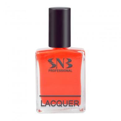 SNB nail polish Vihra - red pastel 15 ml