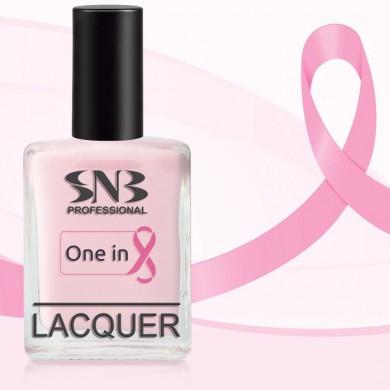 SNB nail polish Viktory 01 - pink 15 ml