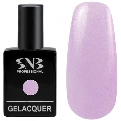 Gel polish SNB Pearl 155 Giselle - pale purple 15 ml