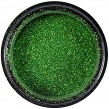 Micro glitter metallic green holographic code: DELM27