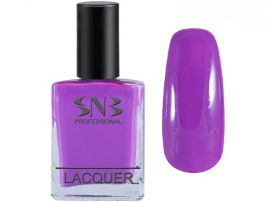 SNB nail polish Veneta 08 - purple pastel 15 ml