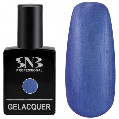 Gel polish SNB Pearl 101 Yolanda - intense blue 15 ml