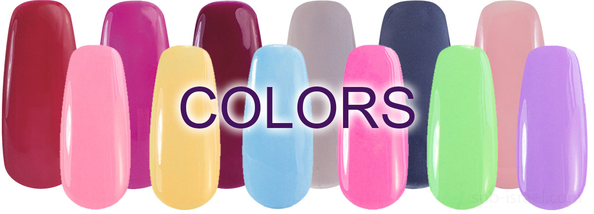 Polish Gel colors by SNB Professional
